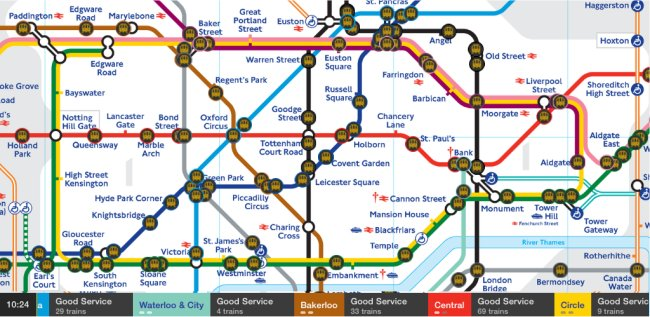 Tube Map Live!