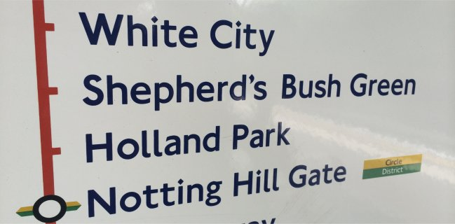 Shepherds Bush Green on the Central Line