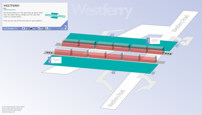 Westferry 3D Map