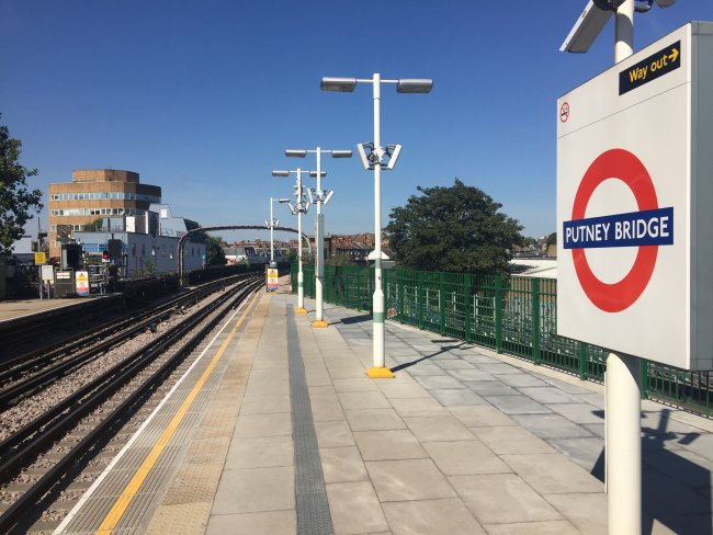 Putney Bridge New Platform